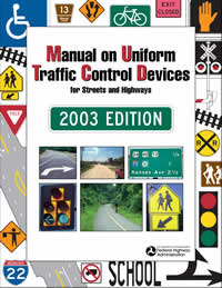 2003 MUTCD, Original, November 2003 Edition cover