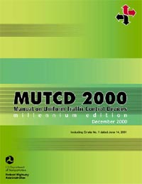 MUTCD 2000 - Millennium Edition Book Cover