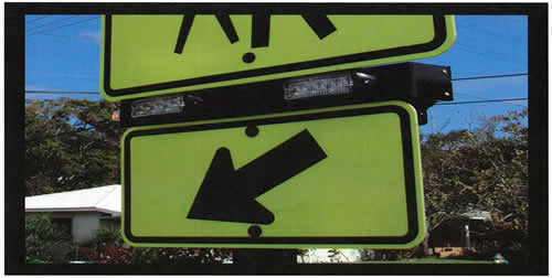 An image of a Rectangular-shaped Rapid Flashing LED Beacon -- With S1-1